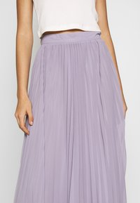 NA-KD - ANKLE LENGTH PLEATED SKIRT - A-Linien-Rock - purple - 4