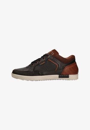 ANTRIM LEER - Sneakers laag - black/tan