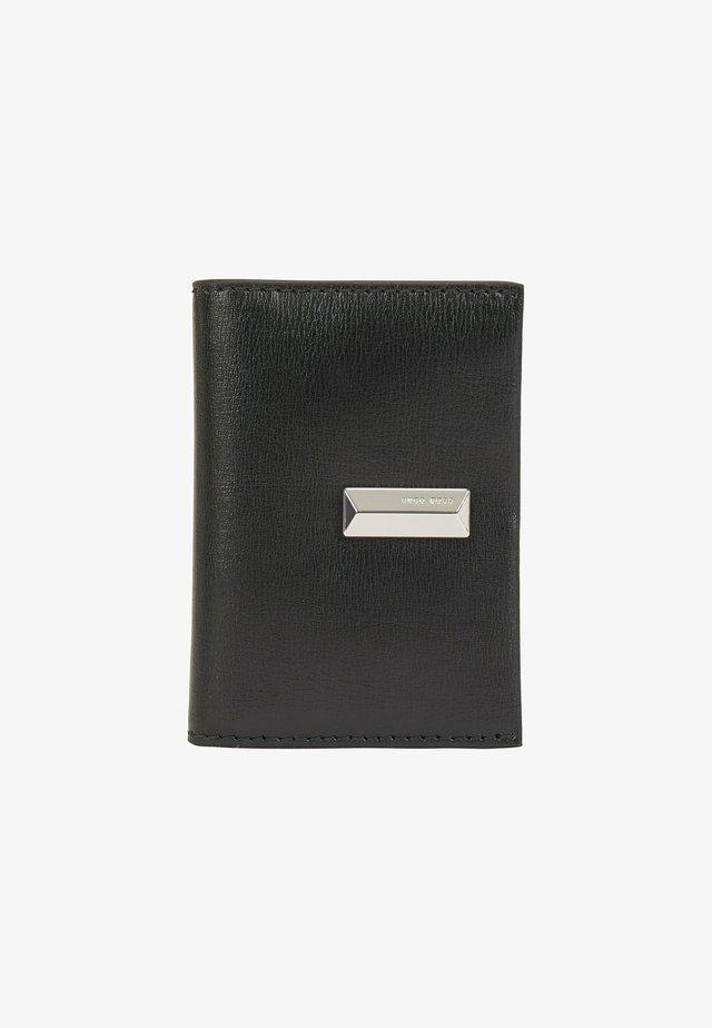 NATHALIE  - Business card holder - black