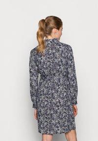 Pieces Maternity - PCMPAOLA DRESS - Shirt dress - blue - 2