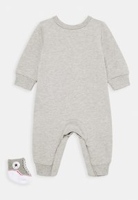 Converse - LIL CHUCK COVERALL SET UNISEX - Jumpsuit - dark grey heather - 1