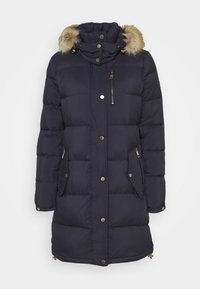 HEAVY PUFFER - Down coat - dark navy