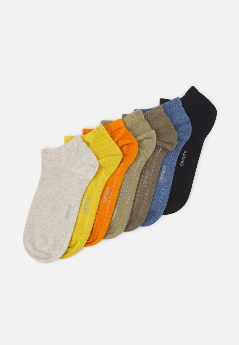 camano - ONLINE SNEAKER 7 PACK UNISEX - Socks - desert sun