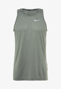 Nike Performance - DRY COOL MILER TANK - Sports shirt - juniper fog/silver - 4