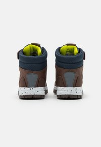 Kappa - LITHIUM UNISEX - Hiking shoes - brown/navy - 2