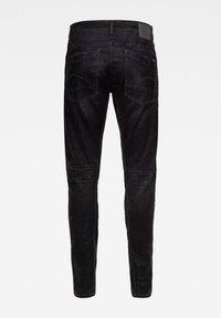 G-Star - SCUTAR 3D SLIM TAPERED - Slim fit jeans - black iced flock - 2