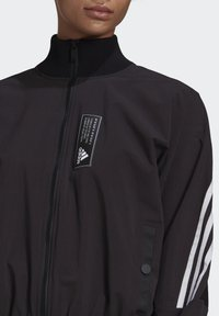 adidas Performance - ADIDAS SPORTSWEAR AEROKNIT TRACK TOP - Chaqueta de entrenamiento - black - 4