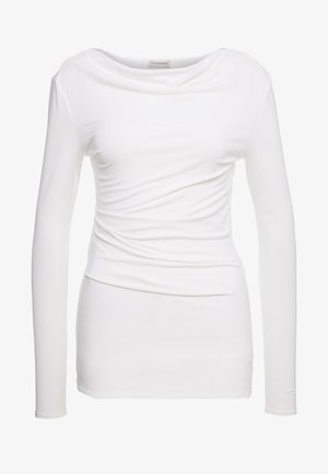 KANIA - Top sdlouhým rukávem - soft white