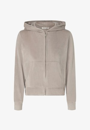 SOFT TOUCH - Sweater met rits - beige