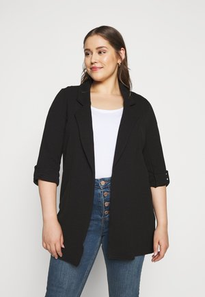 RIVERPOOL TAB SLEEVE - Manteau court - black