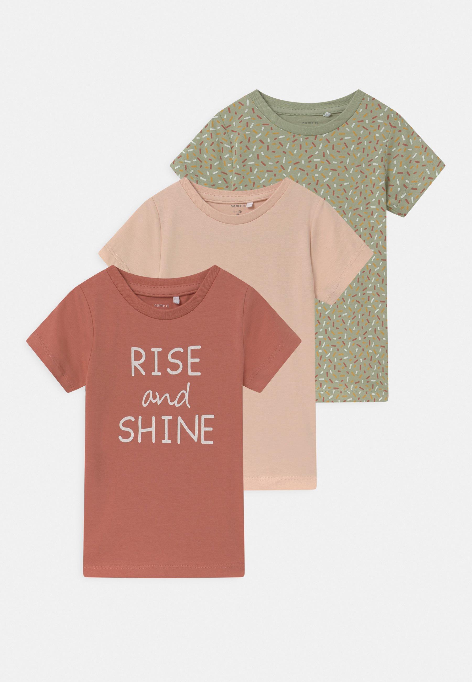 Kids NBFBARBEL 3 PACK - Print T-shirt