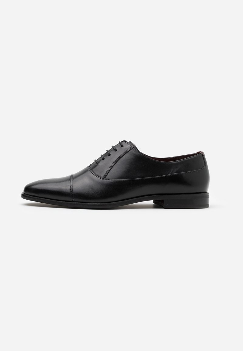 Walk London - ALFIE OXFORD TOE-CAP - Stringate eleganti - black