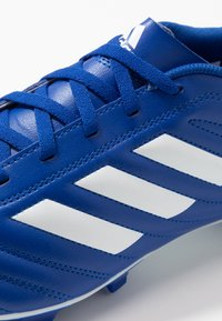adidas Performance - COPA 20.4 FOOTBALL BOOTS FIRM GROUND - Moulded stud football boots - royal blue/footwear white - 5