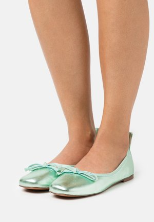 BALLET - Ballet pumps - mint metallic