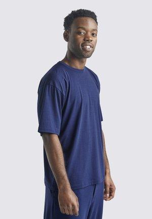 T-shirt basic - royal navy