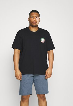 ONSATIK LIFE TEE - Print T-shirt - dark navy