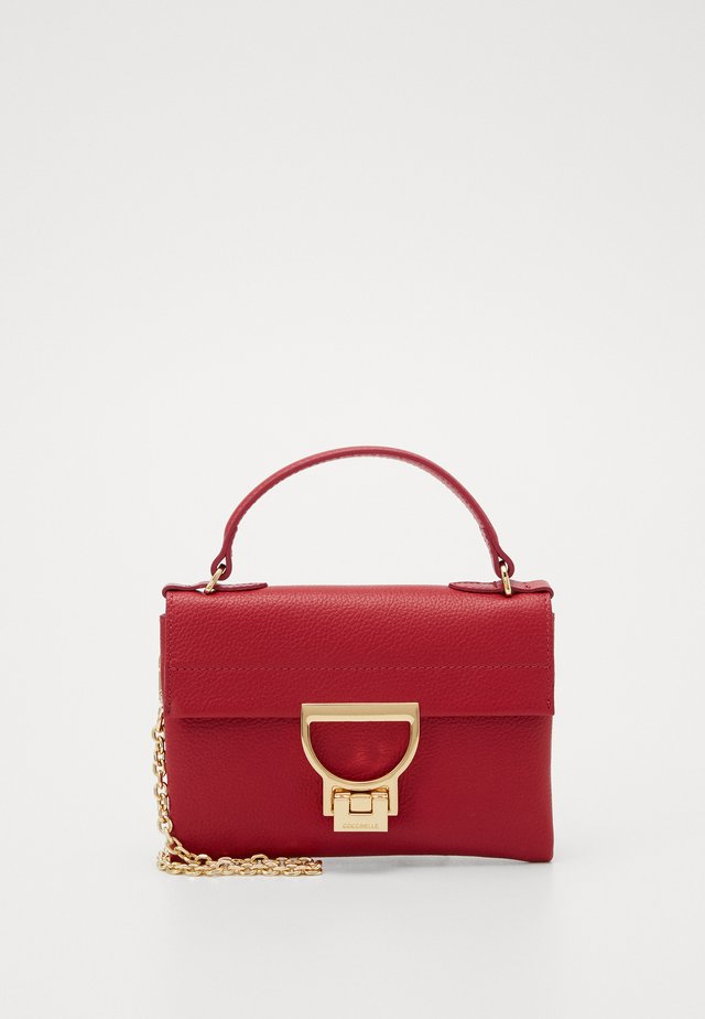 MIGNON FLAT - Across body bag - cherry