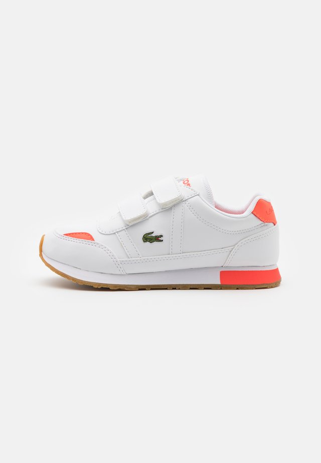PARTNER UNISEX - Trainers - white/pink