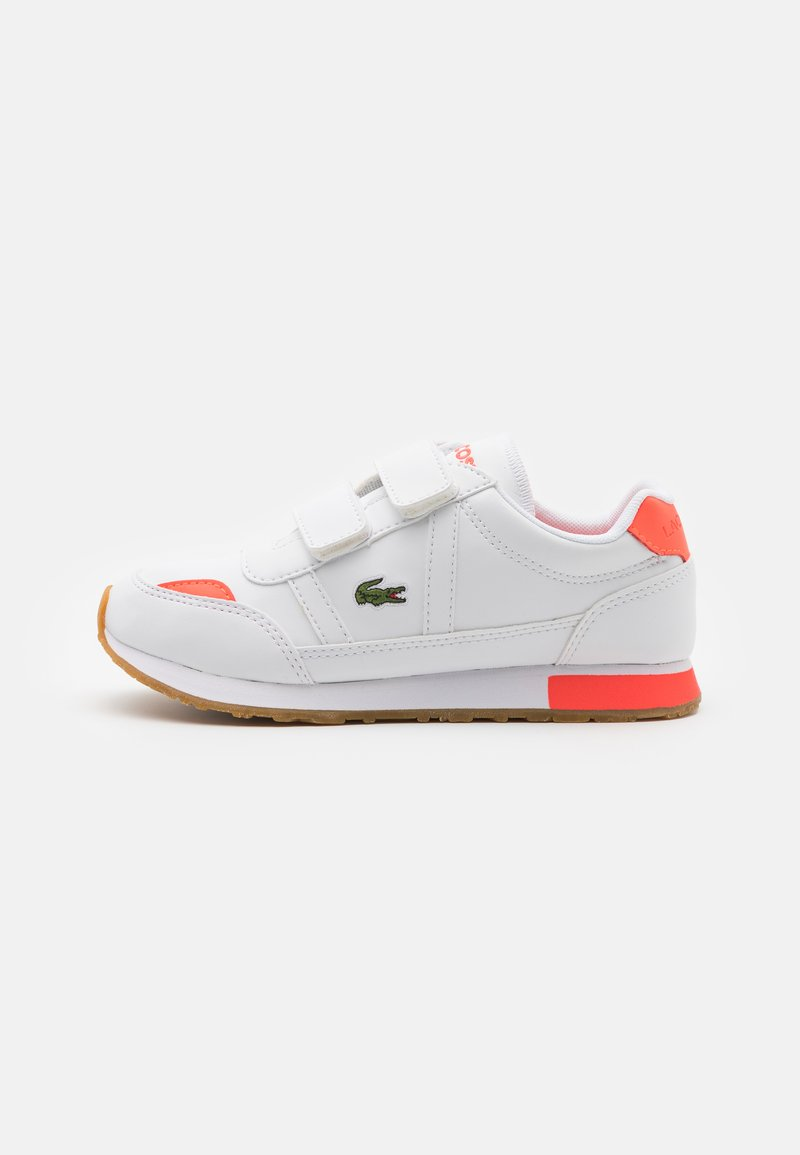 Lacoste - PARTNER UNISEX - Trainers - white/pink