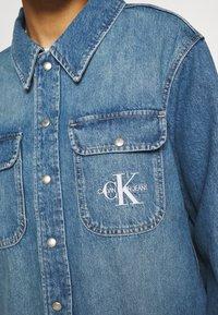 Calvin Klein Jeans - OVERSHIRT - Skjorte - blue - 6