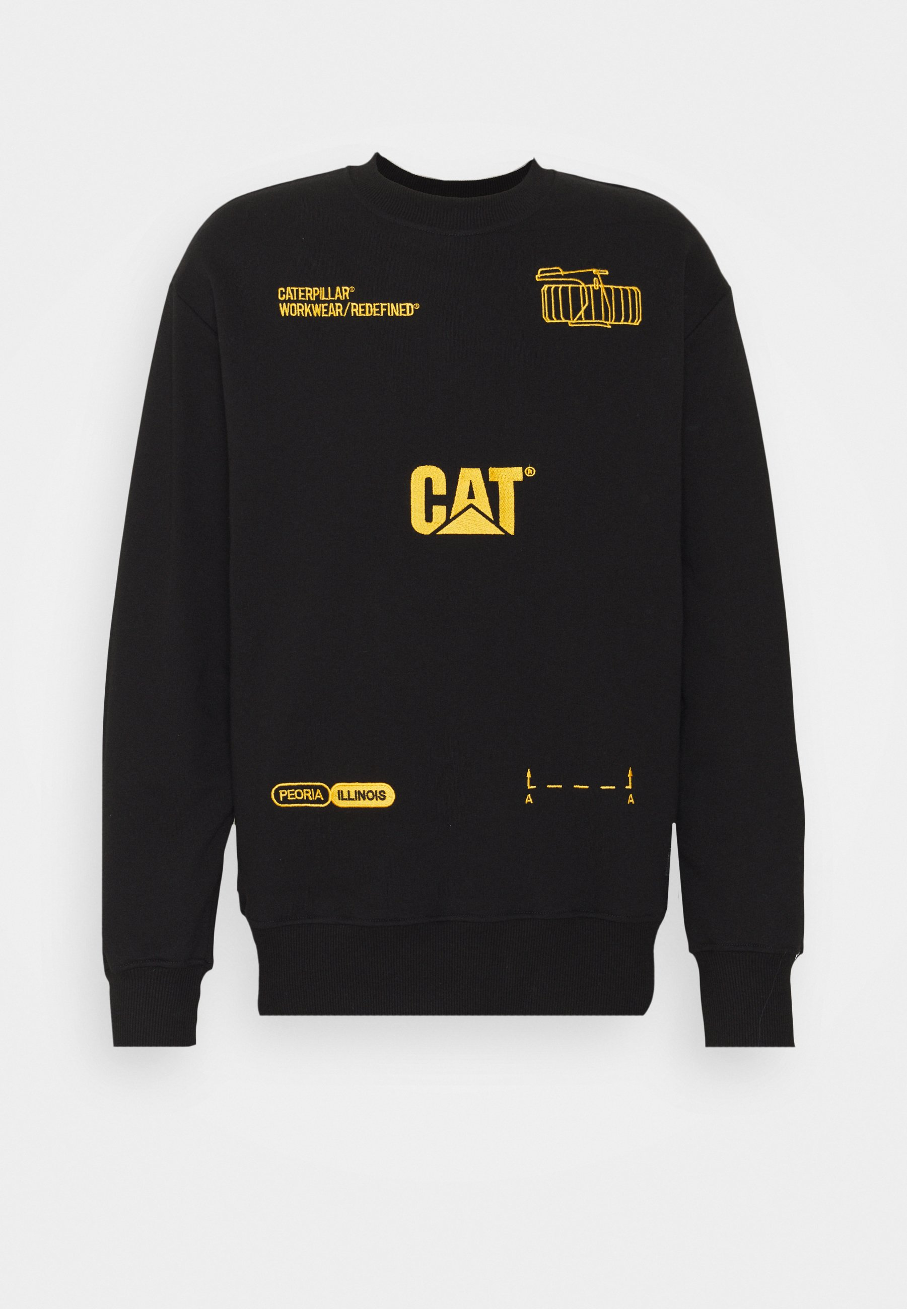 Homme MACHINERY ROUNDNECK - Sweatshirt