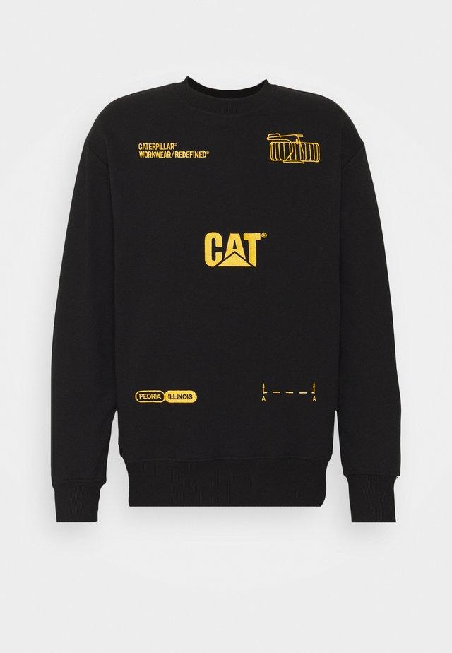 MACHINERY ROUNDNECK - Sweater - black