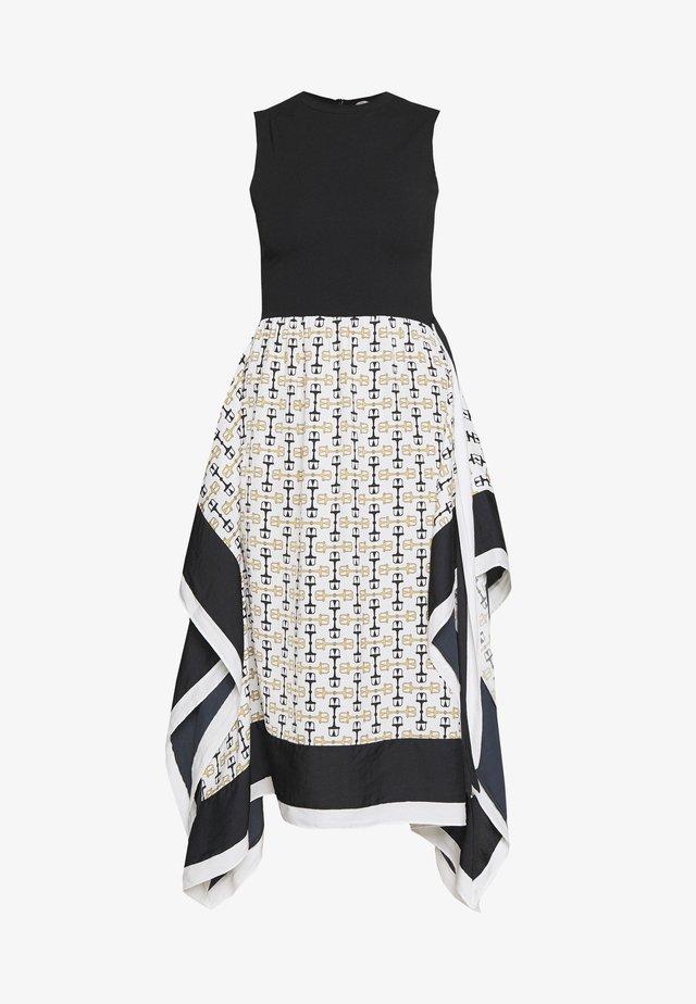 ROSY - Długa sukienka - blanc/noir