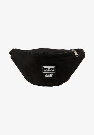 WASTED HIP BAG - Saszetka nerka - black twill
