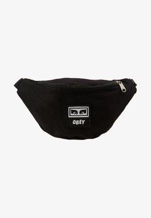 WASTED HIP BAG - Bum bag - black twill