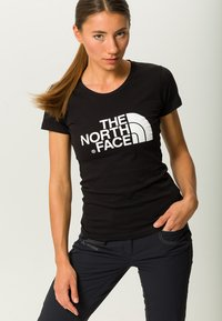 The North Face - WOMENS EASY TEE - Print T-shirt - black - 3
