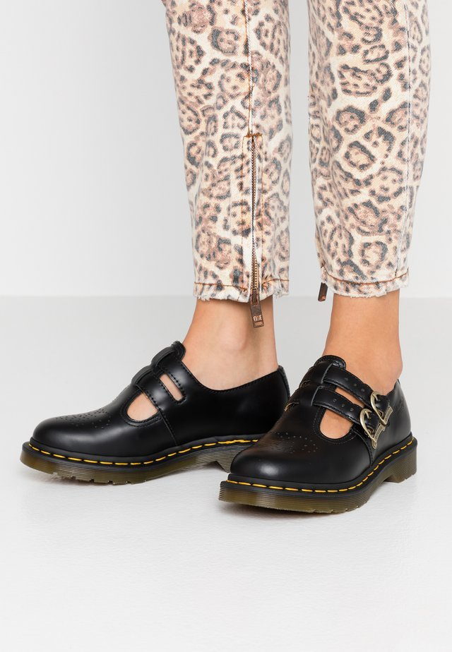 8065 MARY JANE - Loaferit/pistokkaat - black