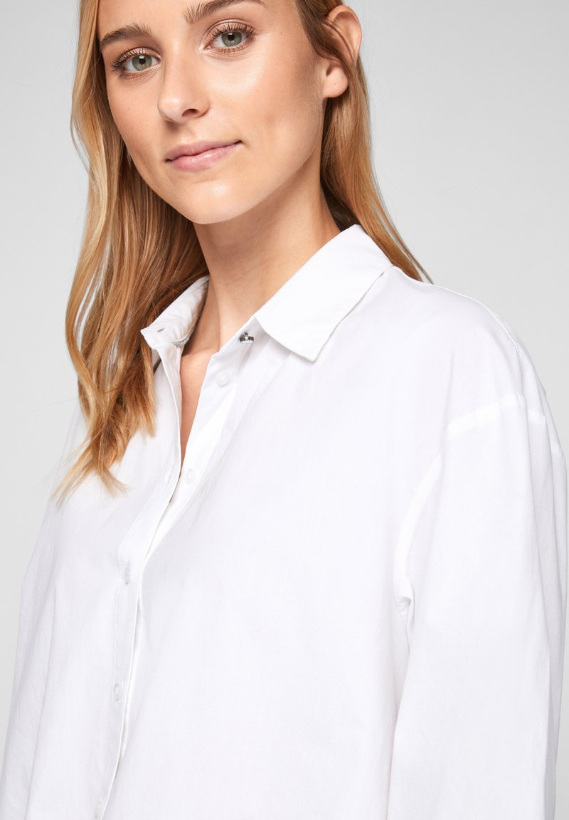 s.Oliver - Button-down blouse - weiß