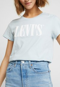 Levi's® - THE PERFECT TEE - T-Shirt print - baby blue - 5