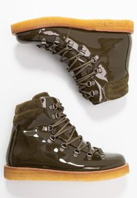 ANGULUS - Lace-up ankle boots - khaki - 3