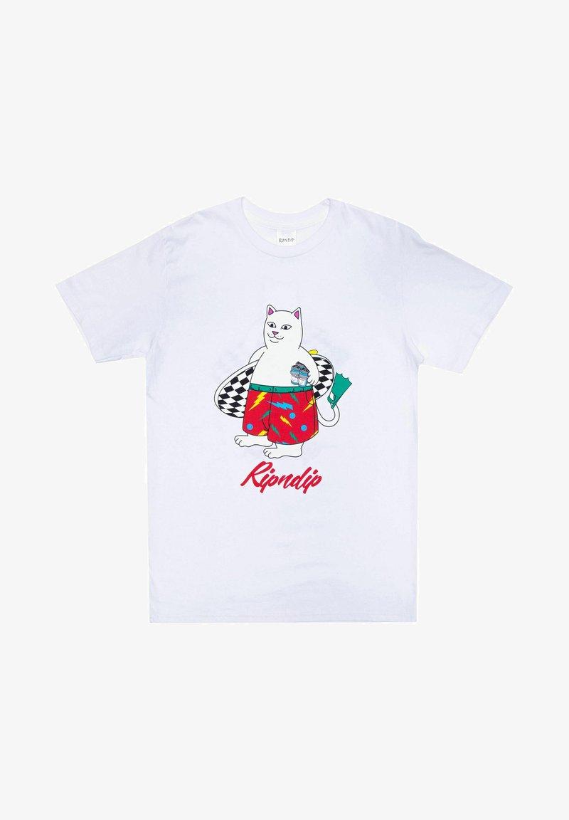 RIPNDIP - T-shirt print - weiß