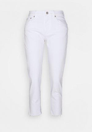 OPTIC CUFF - Jeans straight leg - white global