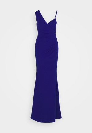 CONTRAST SLEEVE MAXI DRESS - Robe de cocktail - electric blue