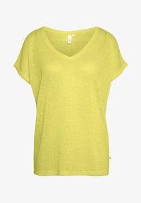 Basic T-shirt - lemon sorb