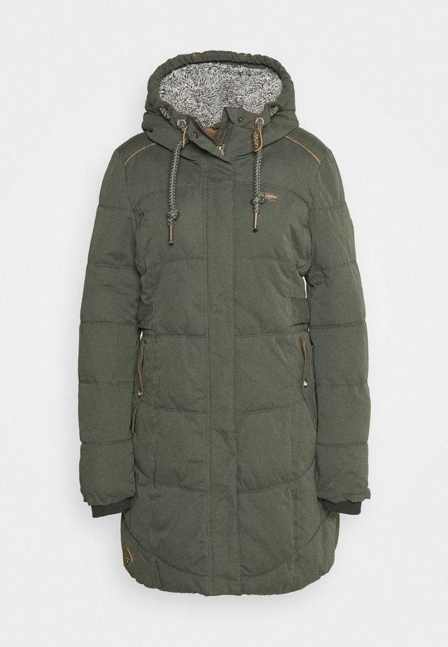 MERSHEL - Winter coat - olive