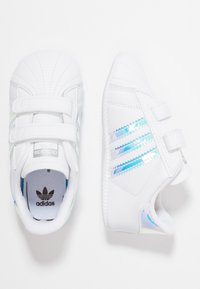adidas Originals - SUPERSTAR CRIB - Chaussons pour bébé - footwear white/core black - 0