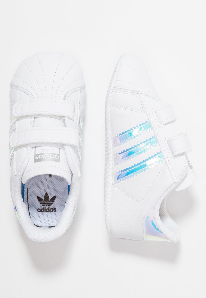 adidas Originals - SUPERSTAR CRIB - Chaussons pour bébé - footwear white/core black