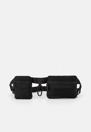 BELT POUCH BAG - Saszetka nerka - black