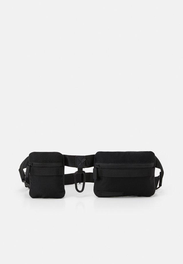 BELT POUCH BAG - Ledvinka - black