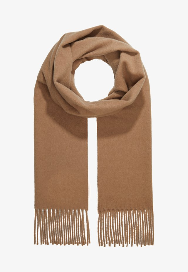 BERG - Scarf - dark honey
