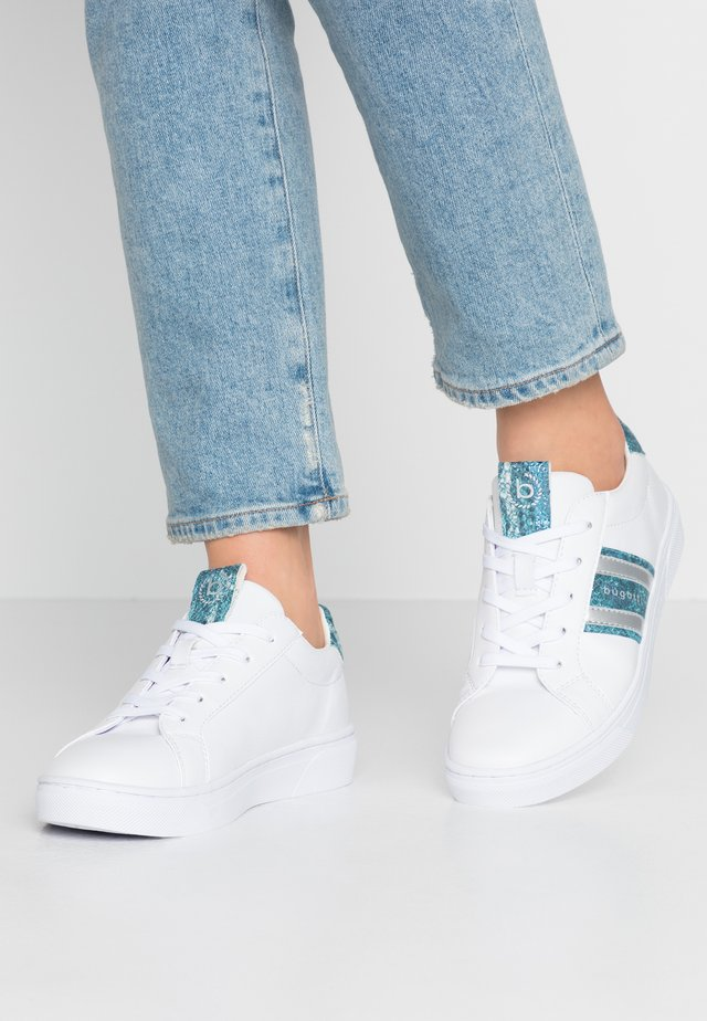 ELEA - Zapatillas - white/light blue