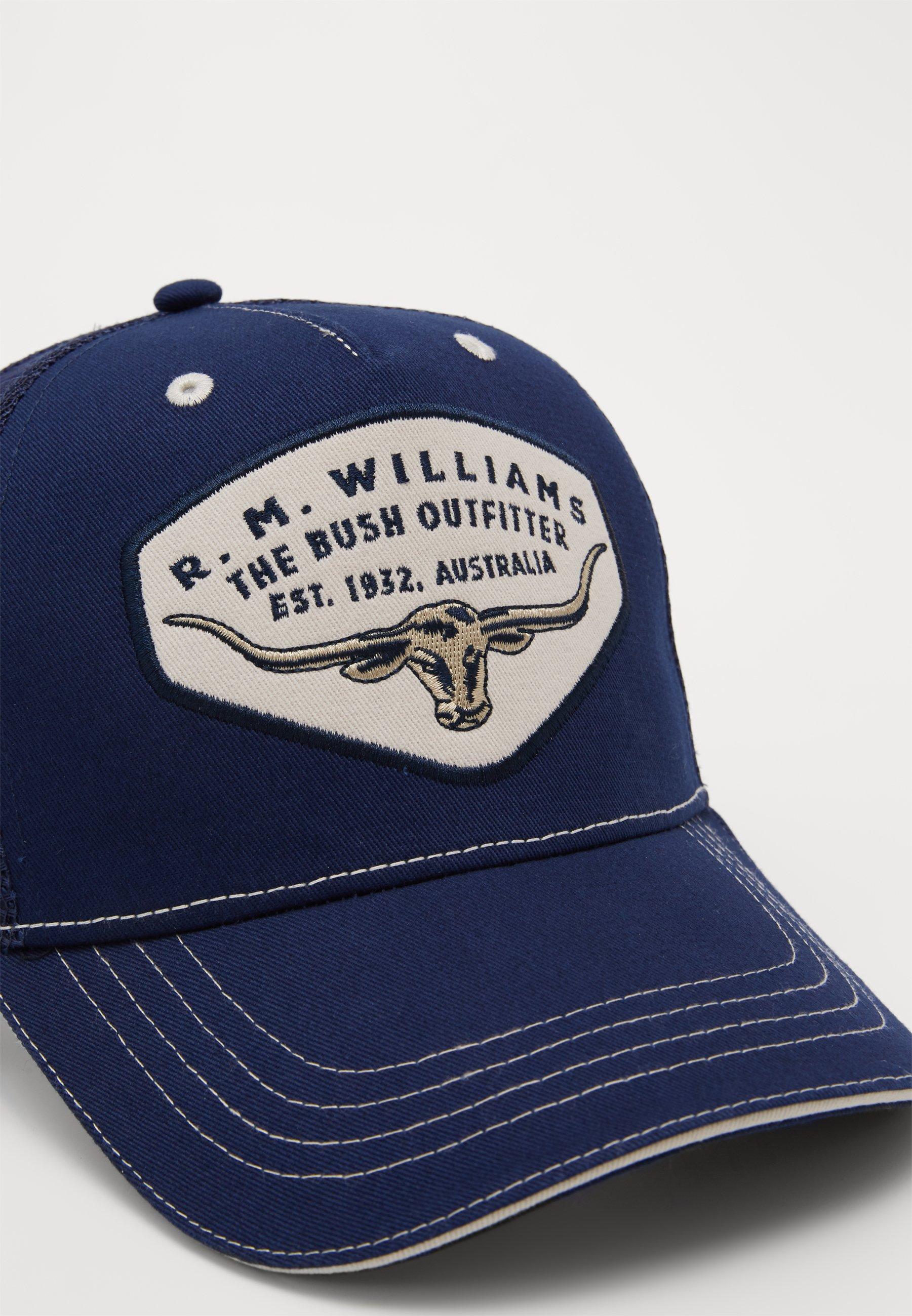 R. M. Williams Trucker - Cap Navy/dunkelblau