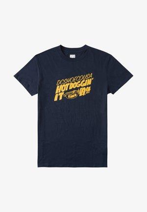 HOT  - Print T-shirt - navy blazer