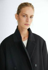 Massimo Dutti - LANGER 06421640 - Classic coat - black - 1