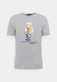 Polo Ralph Lauren - Print T-shirt - andover heather - 5