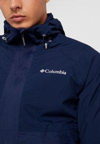 Columbia - EVOLUTION VALLEY JACKET - Hardshell-jakke - collegiate navy - 6